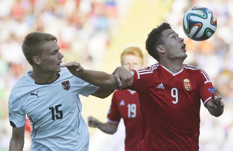 Bobál a tavalyi U19-es Eb-n az osztrákok ellen