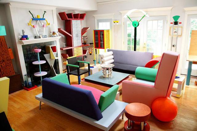 Így néz ki egy vidán nappali a Memphis Milano tagjai szerint.