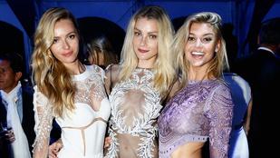 DiCaprio partiján alulöltözött nők vettek körbe híresembereket