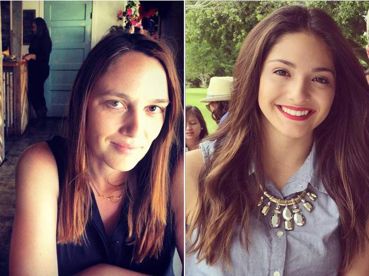 A két áldozat, Jillian Johnson (balra) and Mayci Breaux