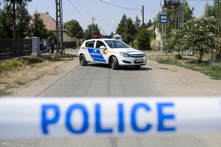 A rendőrség lezárta a környéket