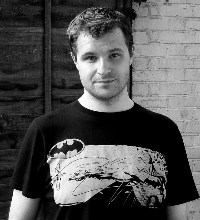 A Marvel-filmek environment artistja, Batman-pólóban:Menyhei Szabolcs