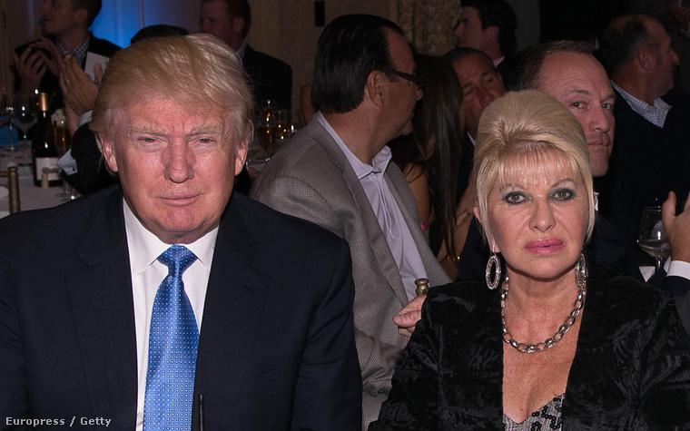 Donald és Ivana Trump