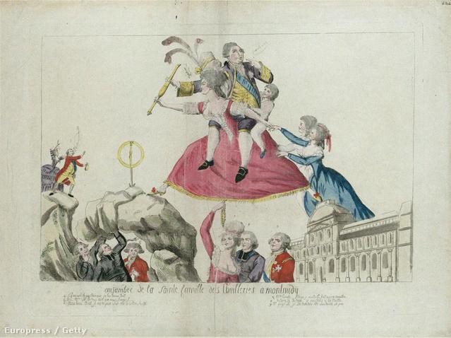 A hihetetlenül hatékony politikai propagandát végző Libelle előszeretettel lovagolt a francia nemesség magánéletében.