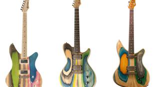 Alaphangon 650 ezer egy gördeszkából készült gitár