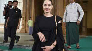 Angelina Jolie nem is lehetne már terézanyásabb