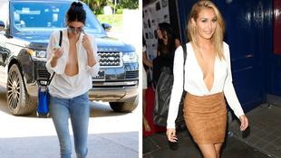 Kendall Jenner mély dekoltázsa sem egyedi