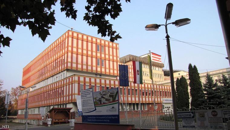 A kaposvári Kaposi Mór Oktató Kórház épülete.