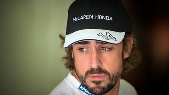 Kezdhet mosolyogni Alonso a McLarennél