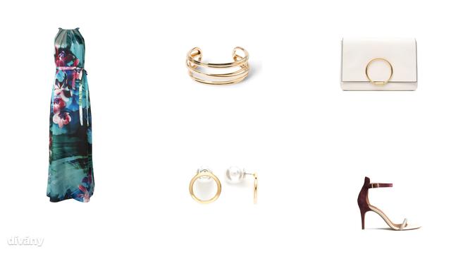 Ruha - 16900 Ft (F&F), karkötő - 3995 Ft (Mango), táska - 12900 Ft (Zara), fülbevaló - 5 font (Asos), cipő - 9990 Ft (H&M)
