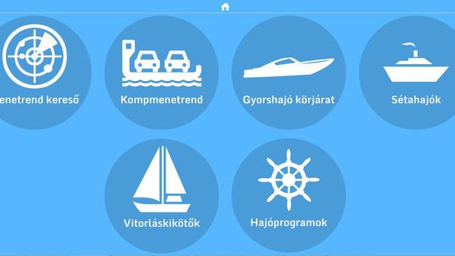 Megkönnyíti a nyaralást a hajós applikáció