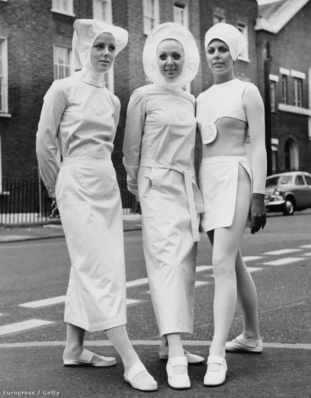 A Nurses Of The Future névre keresztelt kollekció Londonban.