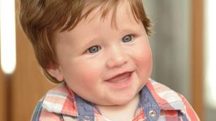 Dobjon el mindent: Csecsemőt ENNYI hajjal még nem látott!!
