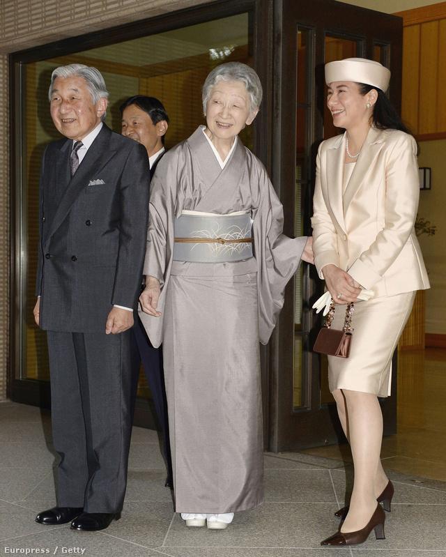 """Az 1963-ban született hercegnőt többen a """"japán Dianaként"""" emlegették hazájában."""