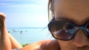 Osvárt Andrea tudja, milyenek a menő vízparti szelfik