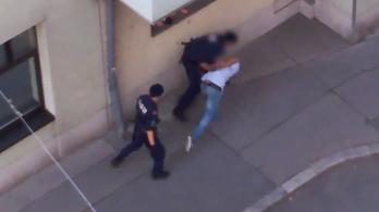 Videóra vették a rendőri brutalitást Bécsben