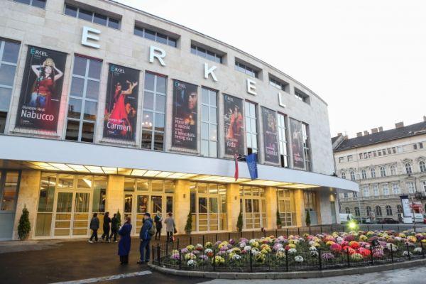 Erkel Színház, homlokzat
