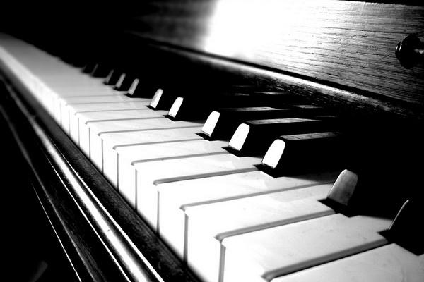 zongorabillentyűk, illusztráció, töltelék