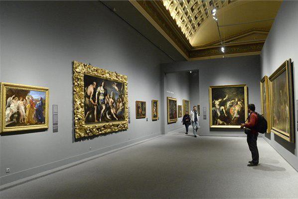 Caravaggiótól Canelettóig c. kiállítás a Szépművészeti Múzeumban