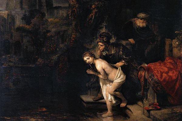 Rembrandt: Zsuzsanna és a vének