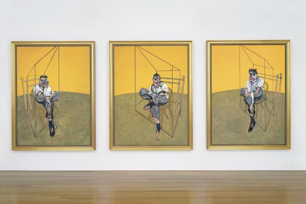 Francis Bacon: Three Studies of Lucian Freud