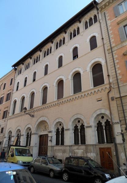Liszt Rómában - Via Sistina