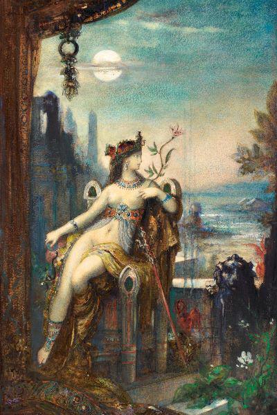 Gustave Moreau: Kleopátra, 1883