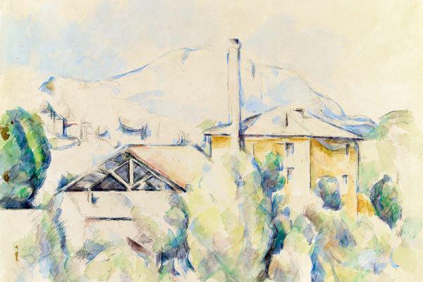 Paul Cézanne: Der Gipsofen, 1890-1894
