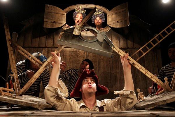 Glimigrim, avagy Gulliver Lilliputban  - Griff Bábszínház