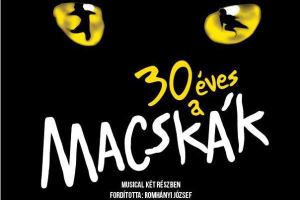 Macskák 30 - Madách Színház