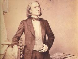 Liszt Ferenc portréja