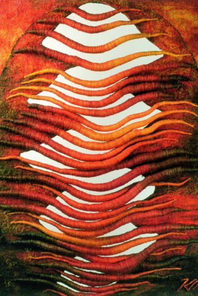 Kubinyi Anna - Eleven textil (1999