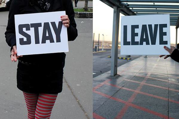 Menni vagy maradni?
