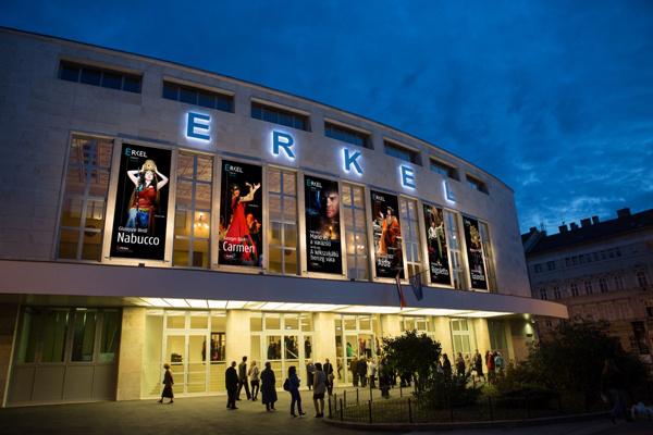 Erkel Színház látványterve