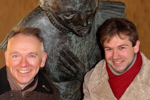 Nicholas Clapton és Birta Gábor