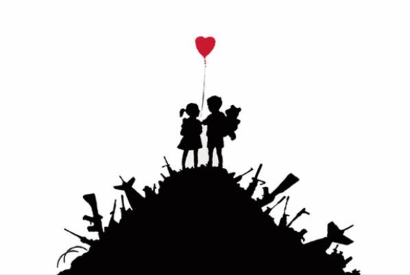 Banksy: Kids on Guns