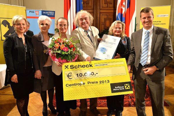 Ildiko Raimondi és Maresa Hörbiger kamaraénekesek, Nika Brettschneider és Ludvik Kavin díjazottak, Elisabeth Vitouch és Andreas Hopf