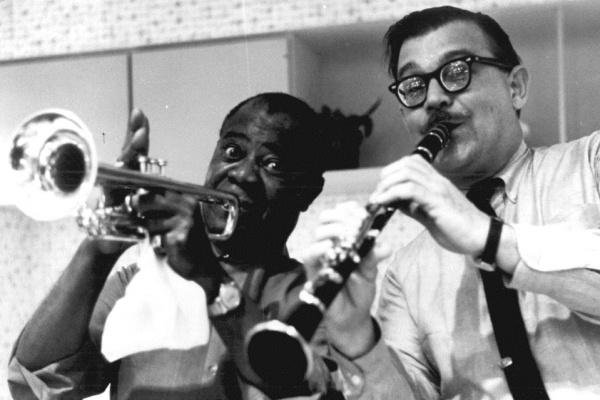 Louis Armstrong és Joe Murányi