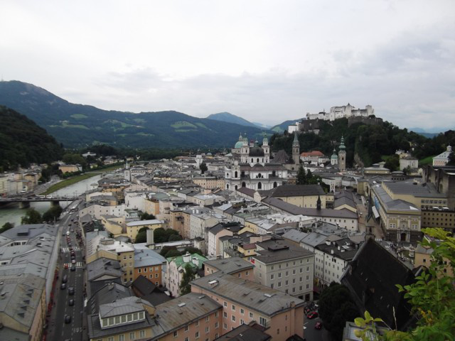 Salzburg óvárosa