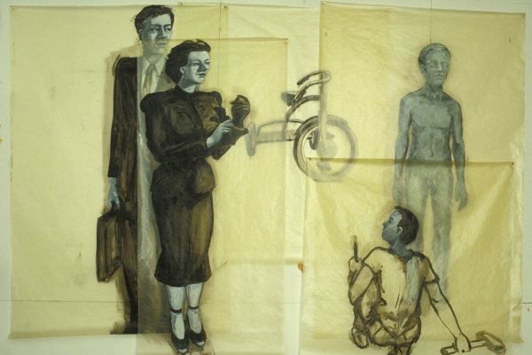 Eric Fischl, The Critics, 1979 © Courtesy des Künstlers und Jablonka Galerie, Köln
