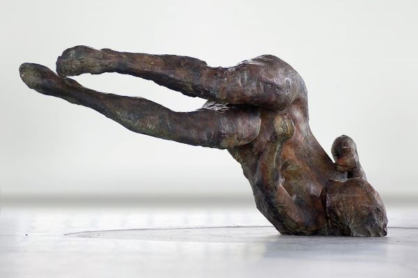 Eric Fischl, Ten Breaths: Tumbling Woman II, 2007