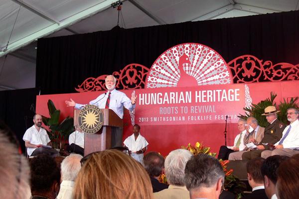Magyarország kulturális örökségét bemutató washingtoni fesztivál - Smithsonian Folklife Festival (SFF