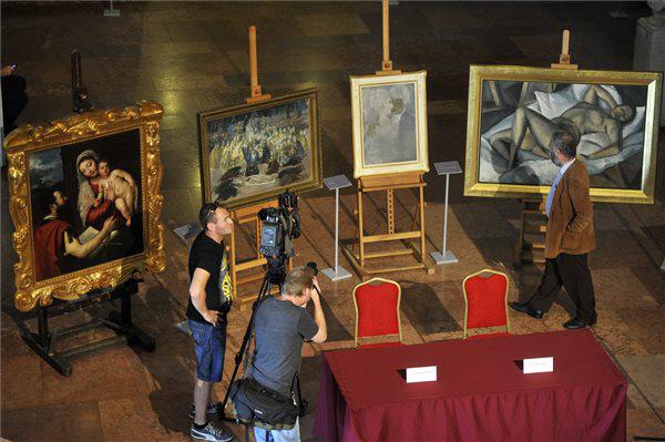 Az MNB Értéktár Programja keretében megvásárolt festmények