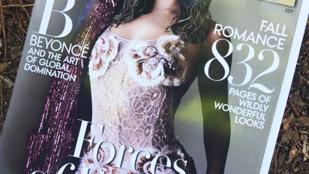 Loncsos hajjal, szétphotoshoppolva szerepel Beyoncé a Vogue címlapján