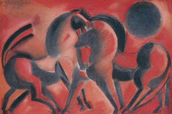 Angyalföldi Szabó Zoltán: Érzéki lovak