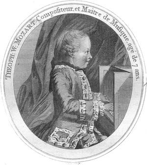 Mozart  7 évesen (Daines Barrington, 1781, International Mozart Foundation)