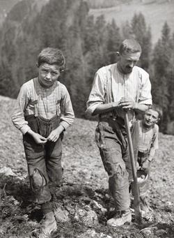 Theo Frey: Krumpliültetés Entlebuchban (1941)