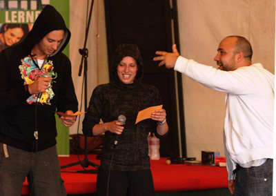 Rap workshop (Sziget 2009)