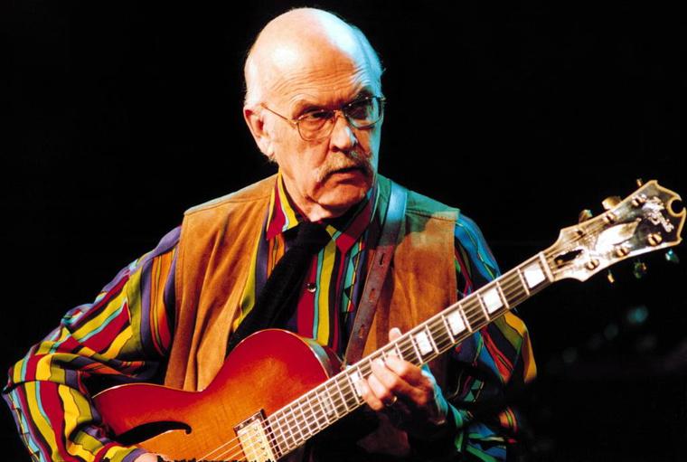 Jim Hall a Jazzpar gálakoncerten - Foto Jan Persson