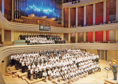Református Zenei Fesztivál, egyesített kórus